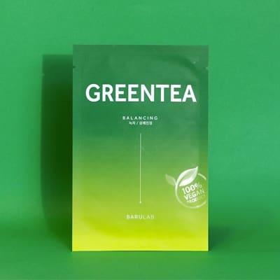 The Clean Vegan Greentea Mask(BARULAB)