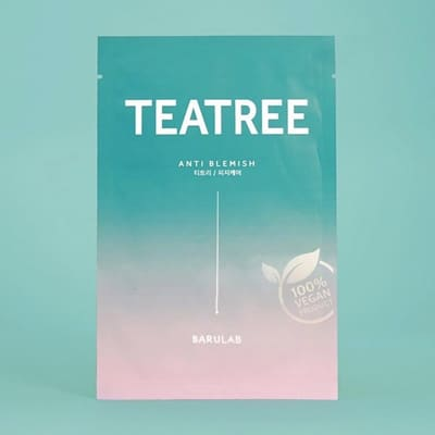 The Clean Vegan Teatree Mask(BARULAB)
