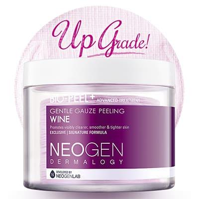 ネオゼン ダーマロジー PHAガーゼピーリングパッド(ワイン)(NEOGEN)