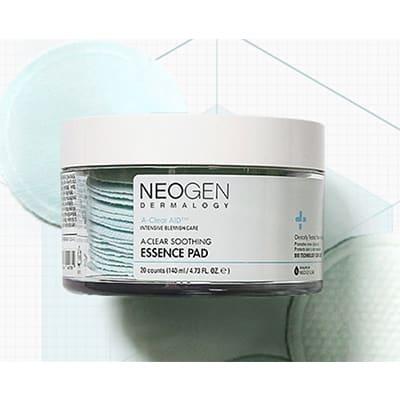 ダーマロジー A-CLEAR スージングエッセンスパッド(NEOGEN)