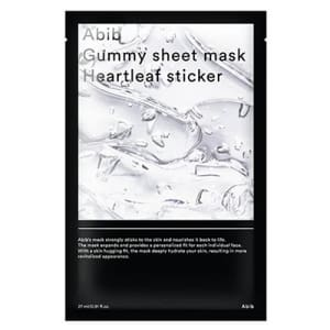 gummy sheet mask heartleaf