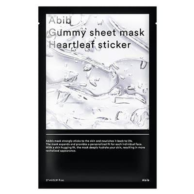 gummy sheet mask heartleaf(Abib)