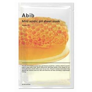 mild acidic pH sheet mask honey