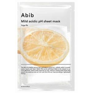 mild acidic pH sheet mask yuja